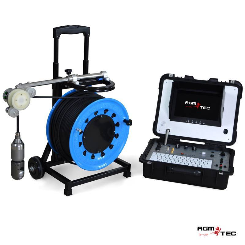 Caméra inspection de puits de forage verticale