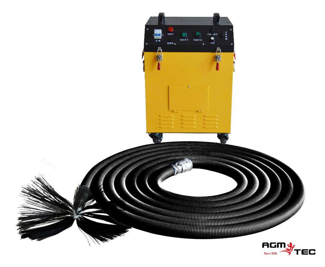 Equipement rotatif de nettoyage gaine ventilation