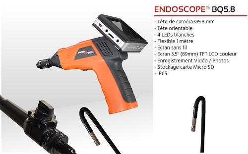 Location endoscope usb industriel
