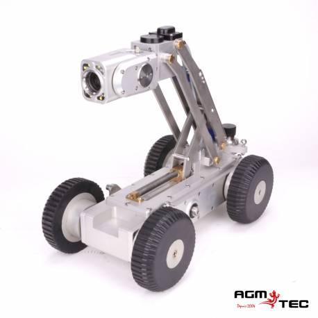 Robot motorisé d'inspection de canalisations