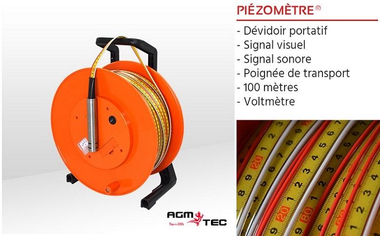 Sonde de niveau d'eau pour puits - Piezometre