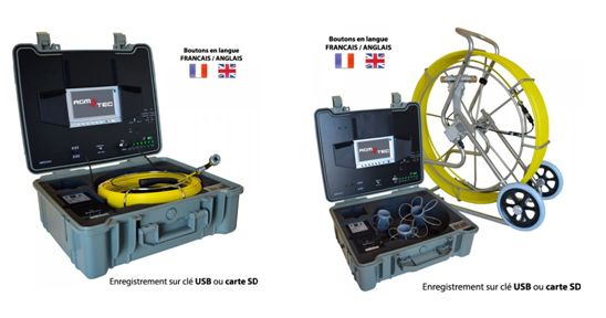 Location d 39 une cam ra d 39 inspection de canalisations la - Location camera canalisation ...