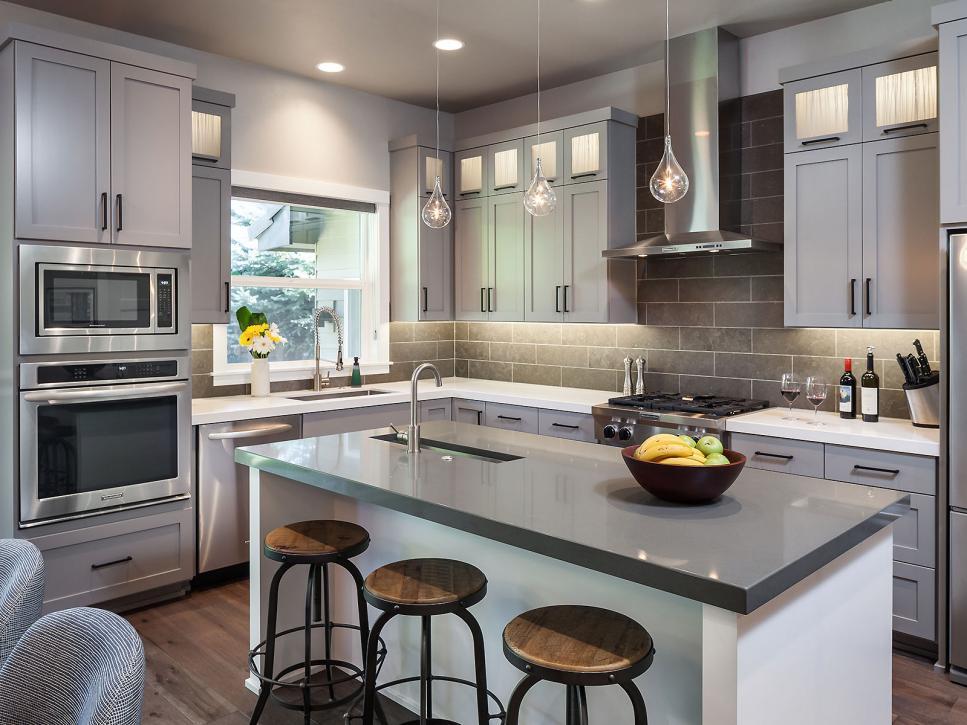 les meilleures id es d co pour une cuisine ouverte. Black Bedroom Furniture Sets. Home Design Ideas