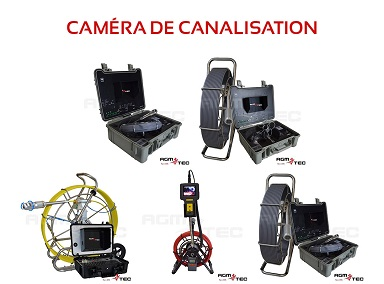 Camera canalisation location