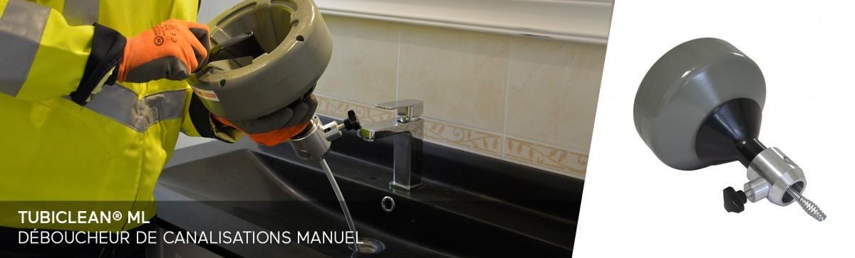furets électriques déboucheurs pour l'entretien de vos canalisations