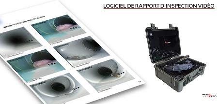 logiciel d'inspection de canalisation