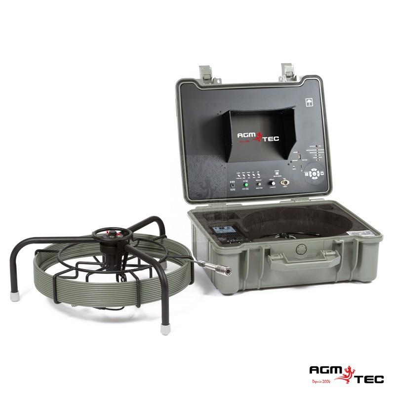 système portable d'inspection poussée canalisations
