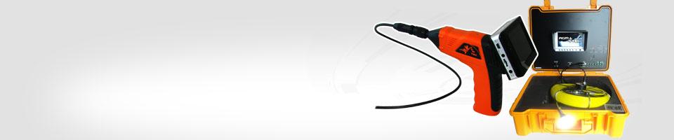Nos cameras d'inspection a pousser rotative et endoscopes flexibles