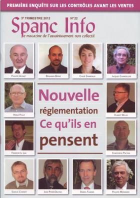 Parution dans le magazine Spanc Info