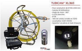 Inspection télévisée canalisation, TUBICAM XL : pour quelles utilisations et quels avantages ?