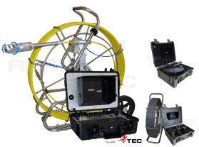 Caméra à pousser, l'inspection des canalisations avec une tête rotative 360°