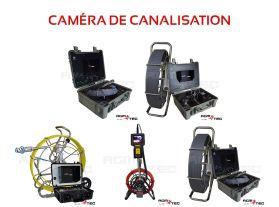 Camera canalisation location pour la recherche de fuites d'assainissement ou de canalisations