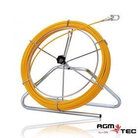 Aiguilles détectables, utilisés comme tire-câble pour le tracé de conduites