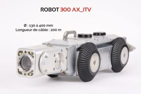 Robot d'inspection visuelle de canalisations-AGM TEC