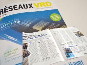 Publication presse sur le catalogue réseaux VRD