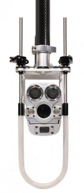 Caméra inspection de regard sur perche télescopique