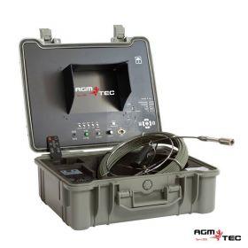 Nos caméras d'inspection sont fabriqués avec des joncs de poussée en fibre de verre renforcée