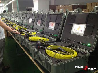 atelier de fabrication de caméras d'inspection de canalisations