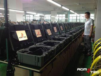 Atelier de fabricant de caméras de canalisations